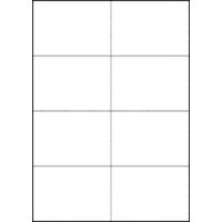 Formtec Labels 105x74mm 8 Labels Per Sheet  Box of 100 Sheets