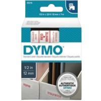 DYMO TP 12/7 RD/WH D1 (45015)