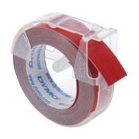 DYMO TAPE 9MMX3M RED (524702)