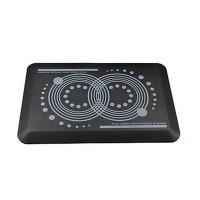 Floortex Anti-fatigue & Anti-microbial Active standing Mat 40x60cm Rectangular Black