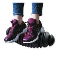 """Floortex Anti-fatigue Antimicrobial Dynamic Footrest 7""""x16"""" Black"""