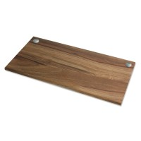 Fellowes Levado Work Top - Size :- 1600mm x 800mm x 25mm & Walnut Color