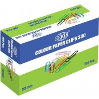 Paper Clips Colour 33MM
