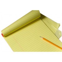 Legal Writing Pad A5 Size Yellow