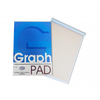 A4 Graph Pad (FIS)-50 Sheets