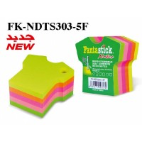 Fantastick Sticky Notes Fluorecent 5 Color Tshirt