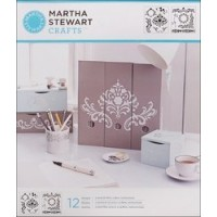 MARTHA STEWART MEDIUM STENCIL FLOURISH