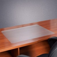 Floortex PVC Desk Mat 48X61cm Clear,smooth back