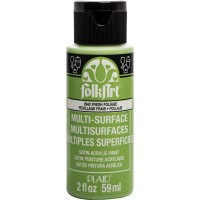FOLKART MULTI-SURFACE Paint - FRESH FOLIAGE
