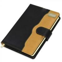 FIS Diary 2021 English (Golden Corners) Black, A5