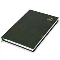 FIS A5 Diary 2021 (Arabic/English) Green