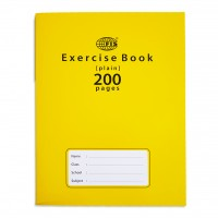 FIS® EXERCISE BOOK 200 PAGES PLAIN