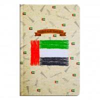 FIS® GCC NOTEBOOK,13X20, 96SHEET,HARD COVER,U.A.E