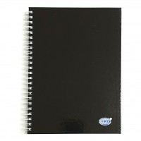 FIS®CLASSICO SPIRAL HARD COVER NOTEBOOK,A5, 100 SHEETS