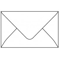 Envelope White 6*4 inches
