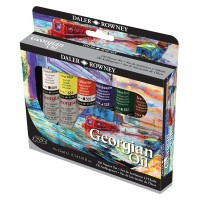 DALER ROWNEY : GEORGIAN OIL PAINT : STARTER SET : 22ML : SET OF 6