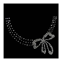 RHINESTONE NECKLACE MONA