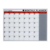 Bi-Office Glass Monthly Planner
