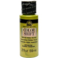 Folkart COLOR SHIFT Acrylic Paints GREEN FLASH