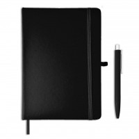 AMS- GSGL 201 Giftology Libellet – A5 Notebook with Pen Set (Black)