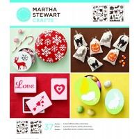 MARTHA STEWART MEDIUM STENCIL HOLIDAY ICONS
