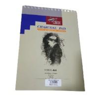 ArtMax Charcoal Pad A4