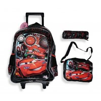 Trolley Bag 18 inches Formula (BAG + Lunch Bag + Pencil pouch)