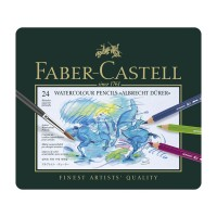FABER-CASTELL Albrecht Durer Artists Water Color Pencils Tin of 24 colors