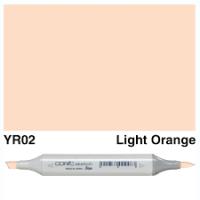 YR 02 LIGHT ORANGE COPIC MARKER