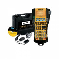 Industrial Label Maker DYMO RHINO 5200 HARD CASE KIT