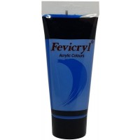 Pidilite Fevicryl Acrylic Color 200ml Primery Cyan