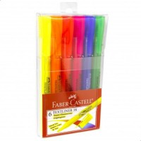 FABER-CASTELL Highlighter Textliner 38 6 pcs Asst Col
