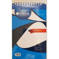 Atlas Double Wire Spiral Pad A5 80gsm,80Sheets