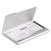 Durable Metallic Business Card Holder