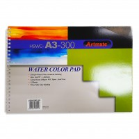 Artmate Water Colour Pad,A3 Size
