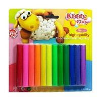 Kiddy Clay Modeling Clay set of 12colors 200g