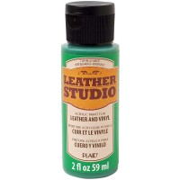LEATHER STUDIO PAINT KELLY GREEN 2 OZ.