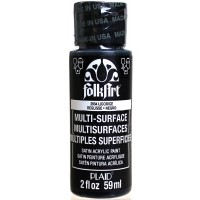 FOLKART MULTI-SURFACE Paint - LICORICE