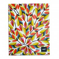 LIGHT® HARD COVER NOTEBOOK SINGLE LINE,10X8 INCH,100 SHEETS