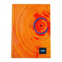 LIGHT® HARD COVER NOTEBOOK SINGLE LINE,A5 SIZE,100 SHEETS
