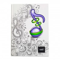 LIGHT® HARD COVER NOTEBOOK SINGLE LINE, A5 - MODEL 2