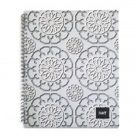 LIGHT® SPIRAL HARD COVER NOTEBOOK SINGLE LINE - MODEL 2