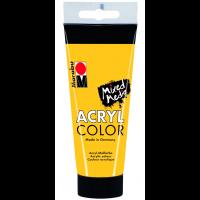 Marabu Acryl Color, 021 medium yellow, 100 ml