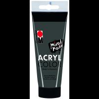 Marabu Acryl Color, 079 dark grey, 100 ml