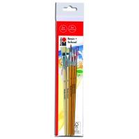 Marabu Basic + School brush set