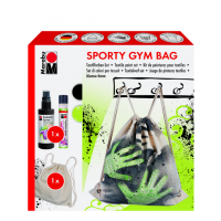Marabu Creative-Set SPORTY GYM BAG