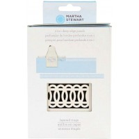 MARTHA STEWART 2 IN 1 DEEP EDGE PUNCH LAYERED RINGS