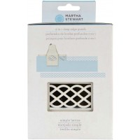 MARTHA STEWART 2 IN 1 DEEP EDGE PUNCH SIMPLE LATTICE