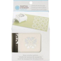 MARTHA STEWART DAISY WINDOW PUNCH ALL OVER THE PAGE PATTERN