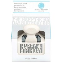 MARTHA STEWART DEEP EDGER HAPPY BIRTHDAY